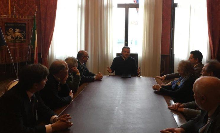 Gli esuli incontrano il Presidente del Consiglio Regionale Veneto Ciambetti